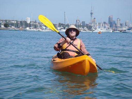A few kayaking photos and a shag