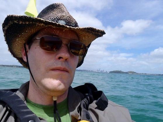 Kayaking to Rangitoto