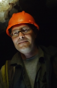 Dave at Nikau Cave