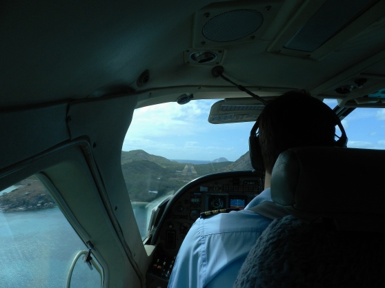 On Approach to Lizard Island