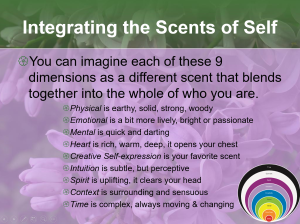 Integrating the Scents of Self