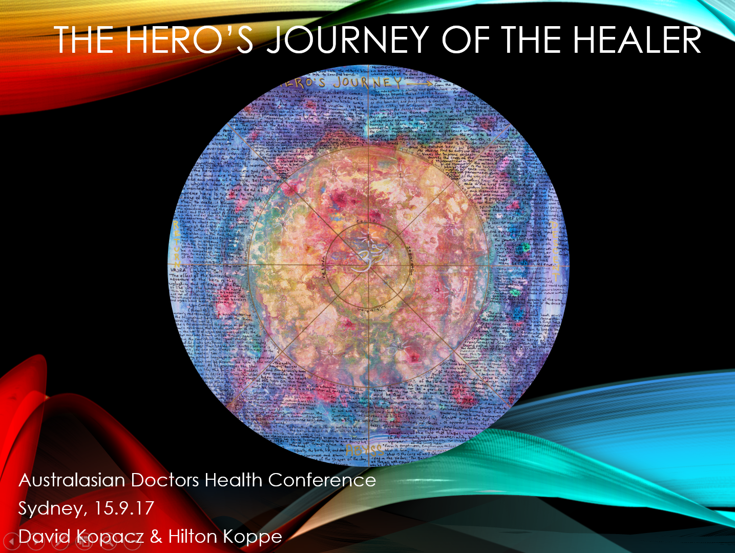 Title slide Healer Hero