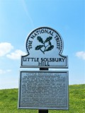 Little Solsbury Hill Sign