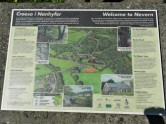 Nevern, Wales, map