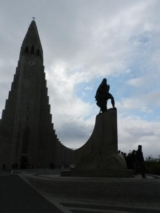 Leifur Eiríksson & Hallgrímskirkja