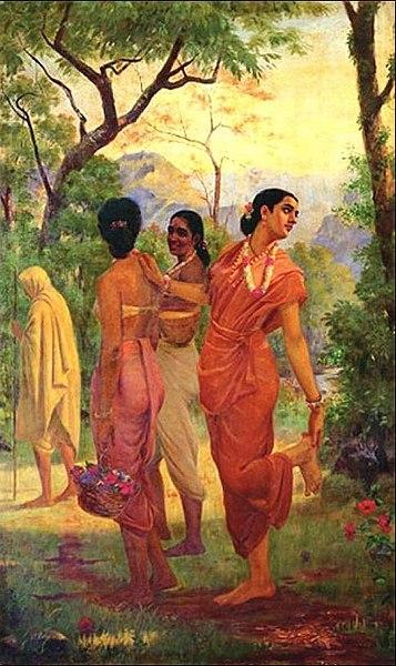 357px-Raja_Ravi_Varma_-_Mahabharata_-_Shakuntala